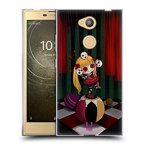 Head Case Designs Juggler Voodoo Dolls 2 Soft Gel Case for Sony Xperia L2