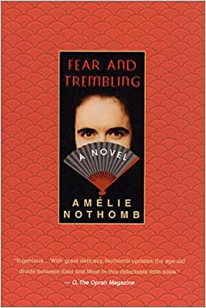 Book Fear and Trembling: A Novel