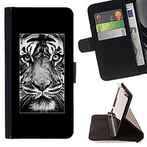 Momo Phone Case / Flip Funda de Cuero Case Cover - Affiche Afrique Majestic animaux - Samsung Galaxy S3 III I9300