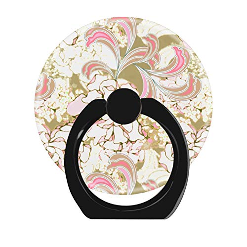- Cell Phone Ring Holder Cellphone Finger Stand 360 Degree Rotation Work All Smartphone-Gardenia Flamingo