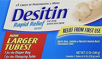 Desitin Diaper Rash Cream Rapid Relief