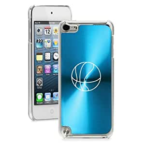 Apple iPod Touch 5th Generation Light Blue 5B853 hard back case cover Basketball