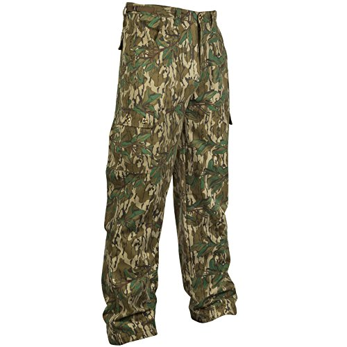 Mossy Oak Men's Cotton Mill II Hunt Pants (Cheap Camo Pants Hunting)