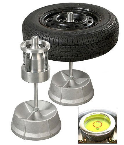 Portable Hubs Wheel Balancer W/ Bubble Level Heavy Duty Rim Tires Cars Trucks HD (Cheap Truck Rims)