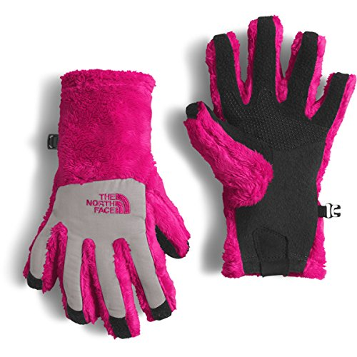 The North Face Denali Thermal Etip Glove Girls' Cabaret Pink Large ()