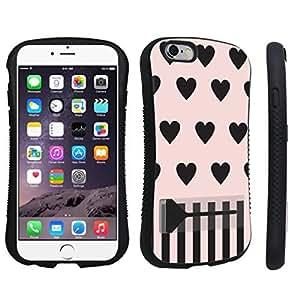 DuroCase ? Apple iPhone 6 - 4.7 inch Kickstand Case - (Pink Hearts)