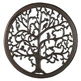 Cheap 12″ Dark Brown Solaris Ten Tree of Life Wall Art with