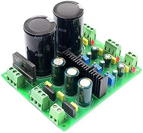 Fertiges Produkt Yebobo LM317 LM337 Mehrkanal-Gleichrichter-Reglerfilter-Leistungsmodul f/ür Verst?Rker