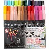 Sakura koi coloring brush pens lot de 24 pinselstifte dans un étui