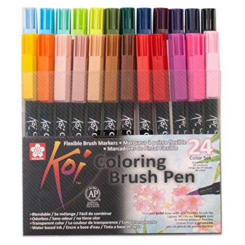 Sakura KOI Coloring Brush Set 24 Punta pincel