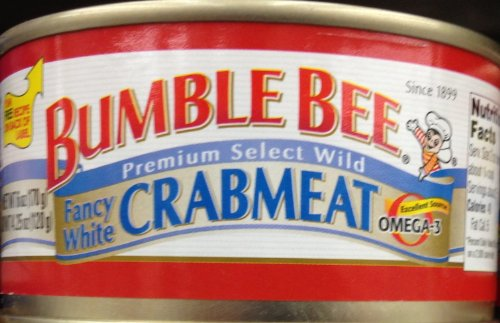 BUMBLE BEE Premium Select White CRABMEAT 6oz 5 Cans