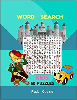Word Search Kids Book Puzzles: Word Search Kids Large Print 50 Puzzles Book