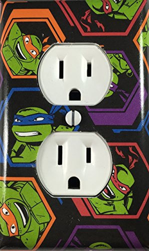Turtles Decorative Outlet Cover Wall Plate ()