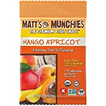Matt's Munchies The Premium Fruit Snack Mango Apricot 1 Oz. Pk Of 3.