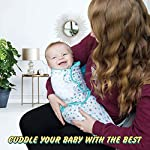 Baby-Swaddle-Blankets-for-Newborn-Boy-and-Girl-SmallMedium-0-3-Months-Old-3-Set-of-Adjustable-Infant-Wrap-AquaGrey
