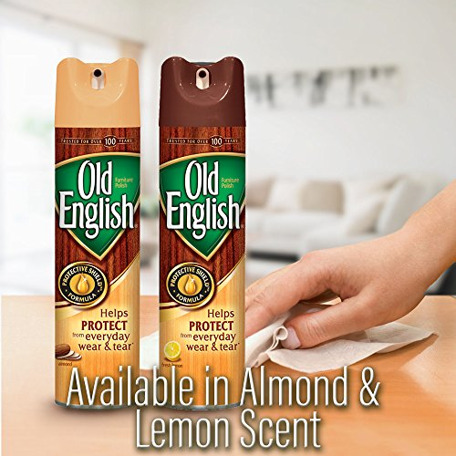 Old English Furniture Polish, Almond 150 oz (12 Cans x 12.5 oz) by Old English (Image #3)