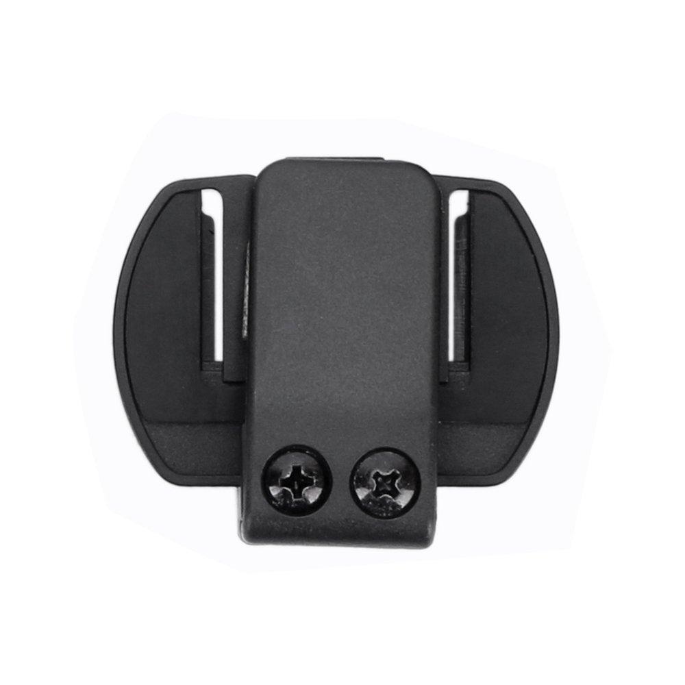 Fodsports clip per casco da moto con cuffie Bluetooth interfono-V6 in dotazione XinLangRui