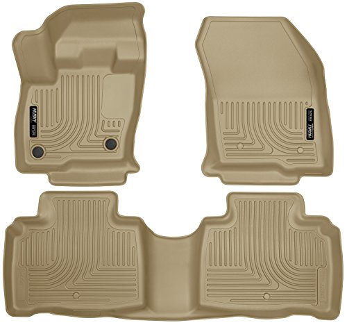 - Husky Liners 99313 Tan Front & 2nd Seat Floor Liners Fits 16-18 MKX, 2019 Lincoln Nautilus