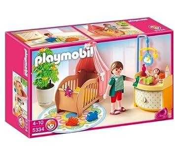 playmobil 5334 chambre de bb avec berceau 5335 salle manger