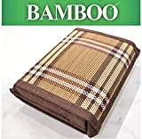 DG Bamboo Wood Weaved Bed Pillow,Filled with Air Infused Micro Beads