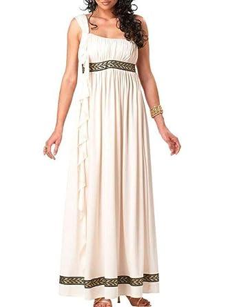 Traje de la emperatriz Romana, Traje de Mujer Diosa Griega ...