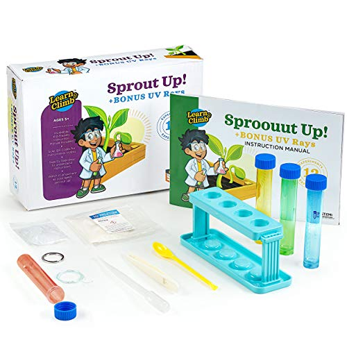 - Learn & Climb - Greenhouse Science Kit for Kids. Botany Experiments for Girls & Boys Ages 3,4,5-7,8