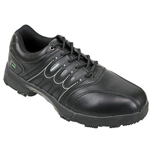 Forgan IWD Waterproof Mens Golf Shoes ALL BLACK kGtlHcn