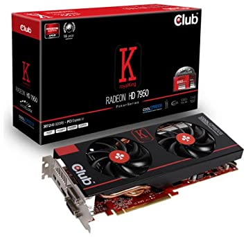 CLUB3D CGAX-7957O2 Radeon HD7950 3GB GDDR5 - Tarjeta gráfica ...