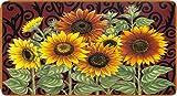 Toland Home Garden Sunflower Medley 20 x 38-Inch Decorative USA-Produced Anti-Fatigue Standing Desk Comfort Designer Mat