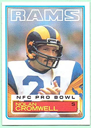 Nolan Cromwell 1983 Topps  88 - Los Angeles Rams at Amazon s Sports ... 9d1fcb39f