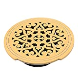 uxcell Wood Acoustic Electric Guitar Feedback Buster Hole Sound Cover Block