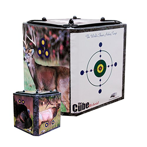 American Whitetail Cube Hybrid-Crossbow Target Hybrid, Camo by American Whitetail