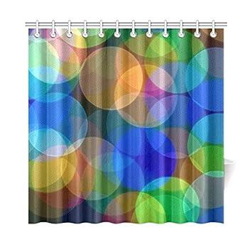 Christmas Home Decor Waterproof Shower Bath Curtain with Hooks Bathroom Decor