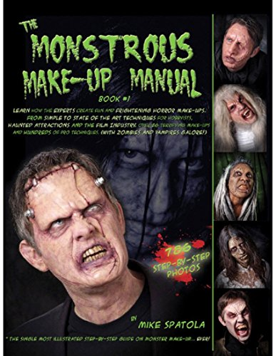 Monstrous Make Up Book #1 ()