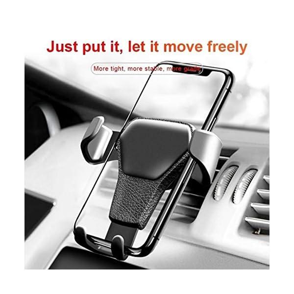 Ba30FRllylelly Support de téléphone pour Voiture Support de Montage pour évent d'air Support de téléphone Universel pour…