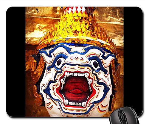 Mouse Pad - Giant Isolated Thailand Sculpture Ravana