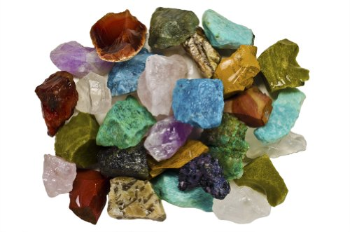 - Fantasia Materials: 3 Pounds (BEST VALUE) Bulk Rough Madagascar Stone Mix - Raw Natural Crystals & Rocks for Cabbing, Cutting, Lapidary, Tumbling, Polishing, Wire Wrapping, Wicca & Reiki