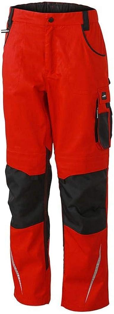 Amazon Com James And Nicholson Pantalones De Trabajo Para Hombre 32 Largo Clothing