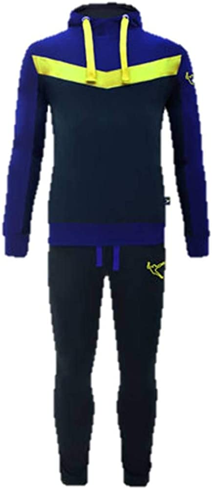 LEGEA Strong Traje con Capucha Hombre Moda atlético Confort Azul ...