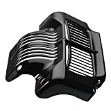 CoCocina Oil Cooler Cover Black For 2011-2015 Harley Touring Electra Road Street Glide For Sale