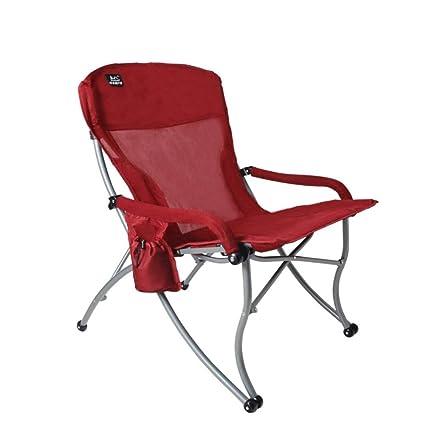 L@LILI Silla Plegable al Aire Libre sillas Plegables ...
