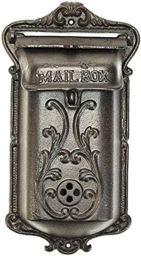 Big door bell cast iron wall gate 30 cm