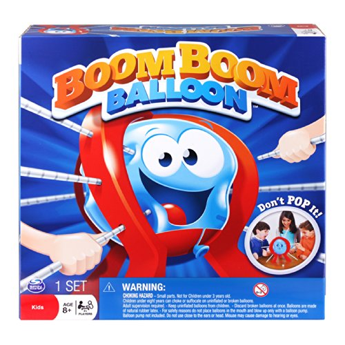 Spin Master Games – Boom Boom Balloon Board Game