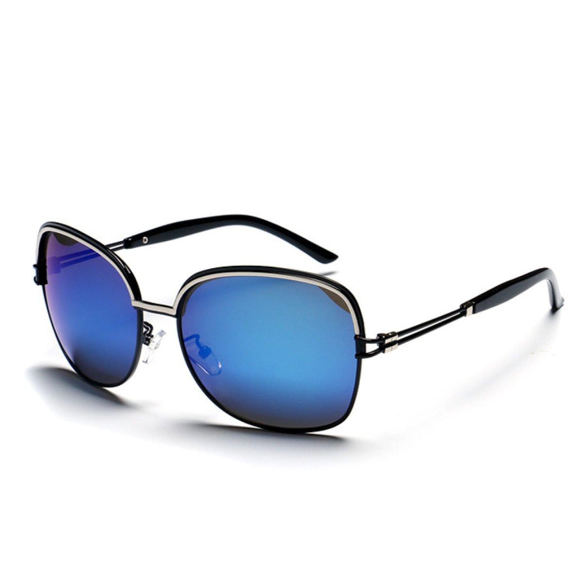 WKAIJC Buntes UV Retro Mode Persönlichkeit Bequem Kreativ Farbfilm Sonnenbrillen,A