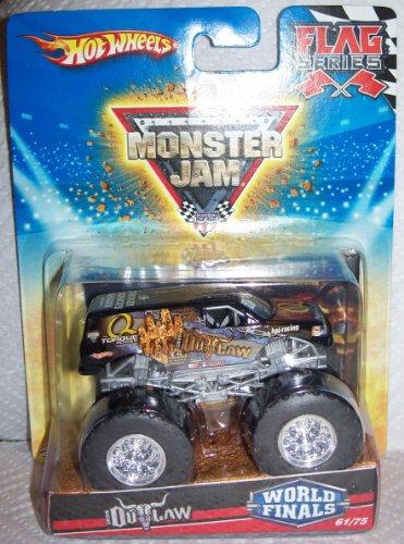 Hot Wheels Monster Jam Iron Outlaw World Finals 61/75 Flag Series
