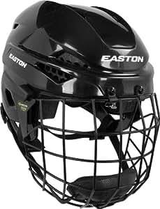 Easton E200 Youth Hockey Helmet Combo BLACK