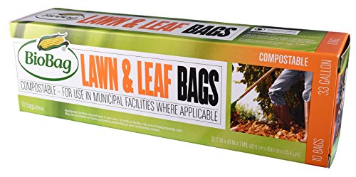 BioBag Certified Compostable Gallon Lawn