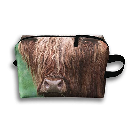 Bison Animal Natural Scenery Face Travel / Home Use Storage Bag, Blanket Storage Space, Strong Durable Recycling Bags, Organizers Bins Set by JIEOTMYQ