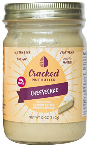Cracked Nut Butter Unroasted Cashew Butter Dessert Spread, Cheesecake, 12 - Apple Cake Nut