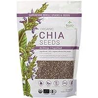 Nature's Superfoods Organic Black Chia Seeds, 450g